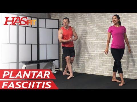 15 Min Plantar Fasciitis Foot & Heel Pain Relief - Plantar Fasciitis Treatment, Stretches, Exercises
