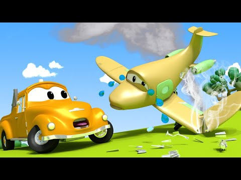 Penny the PLANE don't look so good - Amber the Ambulance in Car City l Cartoons for Children
