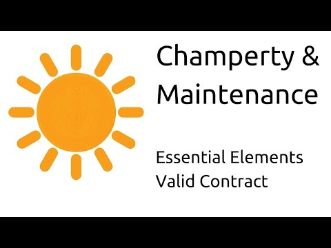 Champerty and maintenance  | Other Essential Elements of a Valid Contract | CA CPT | CS & CMA