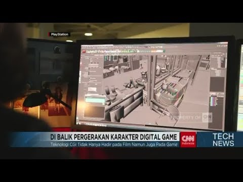 Di Balik Pergerakan Karakter Digital Game - TechNews