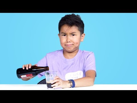 Kids Try Soda from Around the World | Kids Try | HiHo Kids