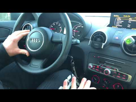 How to drive an Audi A1/S1 car with manual 5 gear transmission DIY