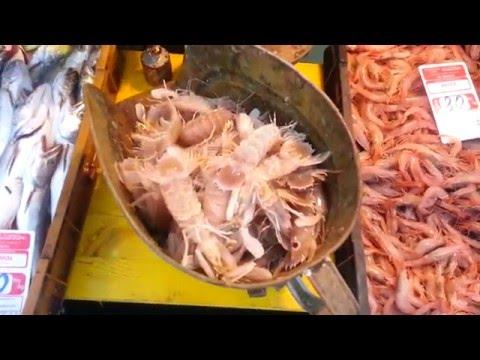ХОРВАТИЯ БЛОГ - Макарска - Рыбный рынок / CROATIA BLOG - Makarska - Fish market on the promenade