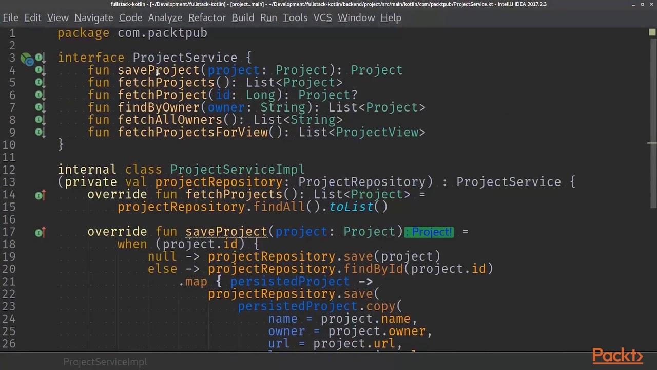 Full Stack Kotlin Development : Choosing and Setting Up a Restful Client |  packtpub com