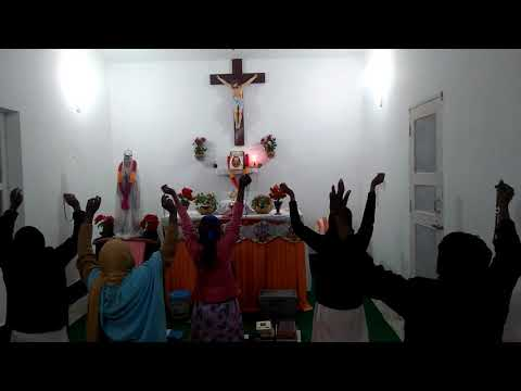 Yeshu Masih Bhawan is praying for all those people who came last Sunday.