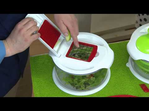 Prepology Combination Dicer And Salad Spinner With Stacey Stauffer