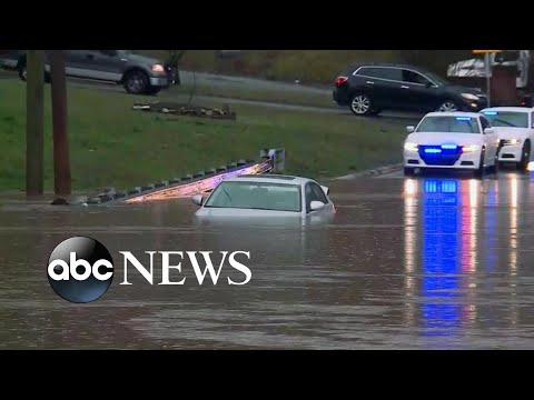 Dangerous storm strikes the Southeast l ABC News