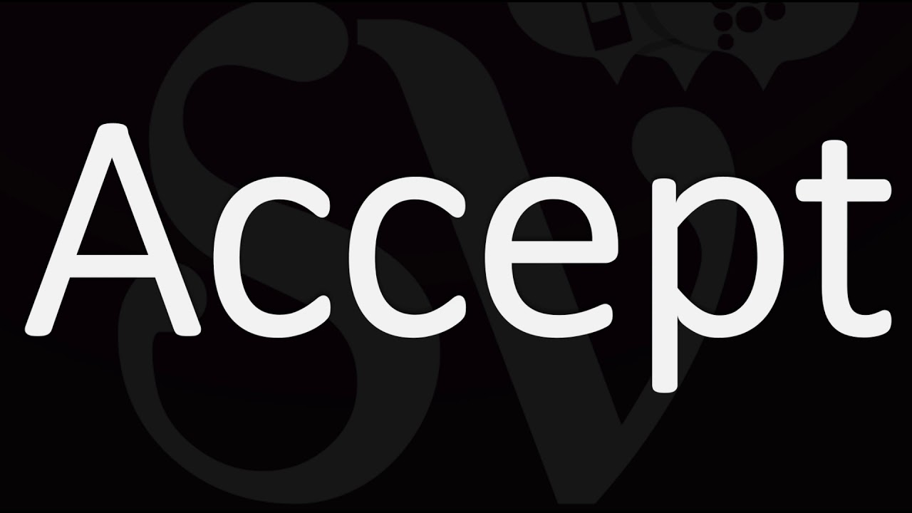 How to Pronounce Accept? (CORRECTLY)