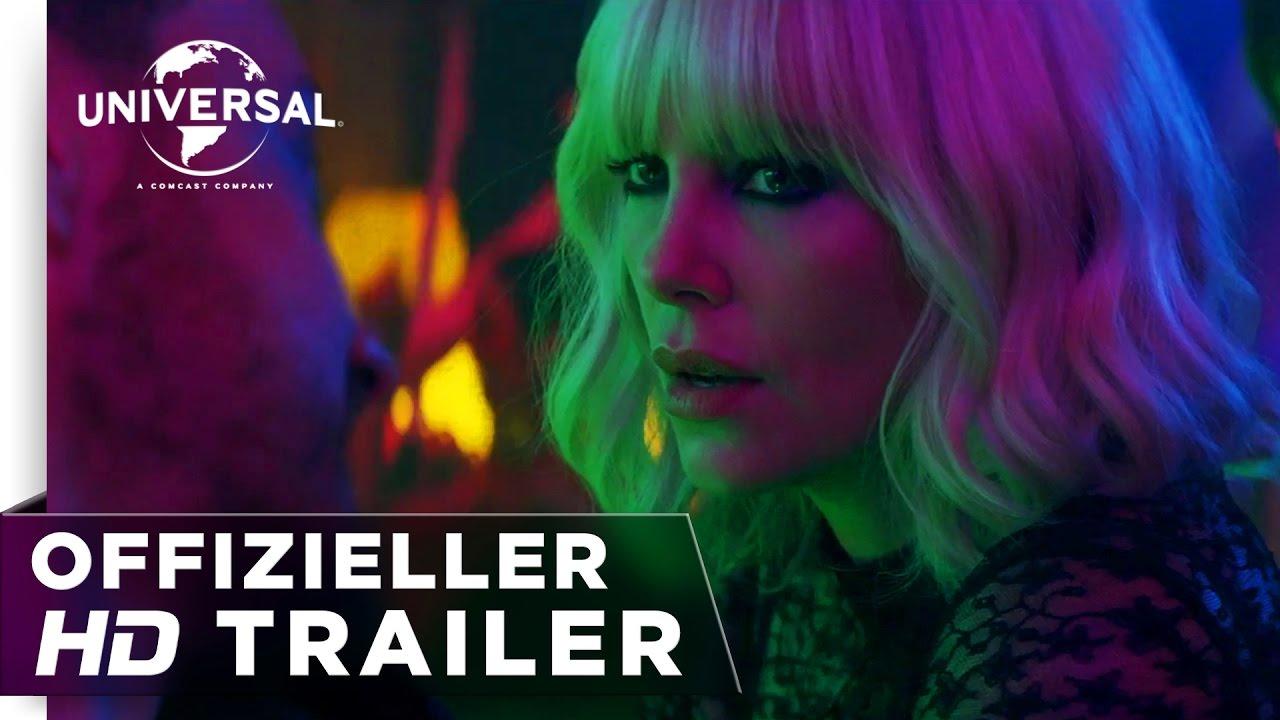 Atomic Blonde - Trailer #2 deutsch/german HD