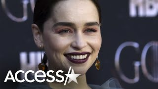 Emilia clarke 'burst into tears' at brother's 'game of thrones' gift