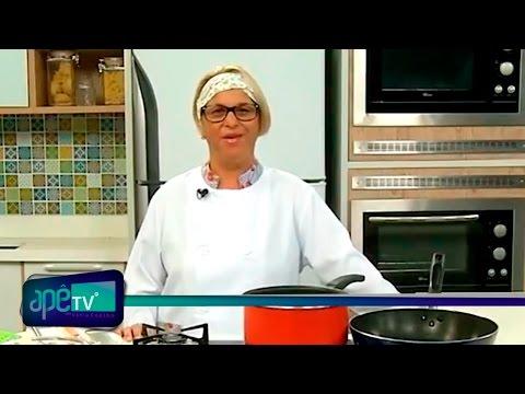 ApêTV - Espaguete de pupunha com ragu de cogumelos 22/04/17