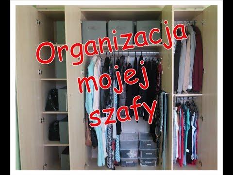 Organizacja mojej szafy.