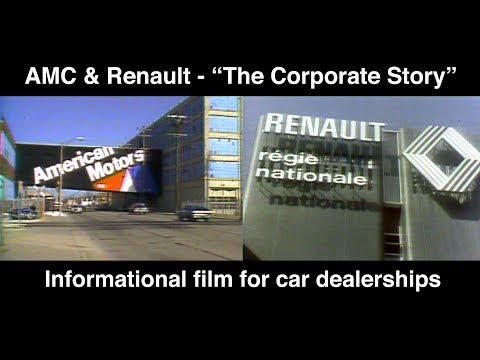 """AMC & Renault: """"The Corporate Story"""" - Training Film with Quiz   AutoMoments"""