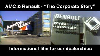 """AMC & Renault: """"The Corporate Story"""" - Training Film with Quiz 