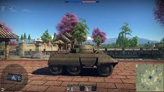war Thunder  M8 Greyhound Gameplay (4K)