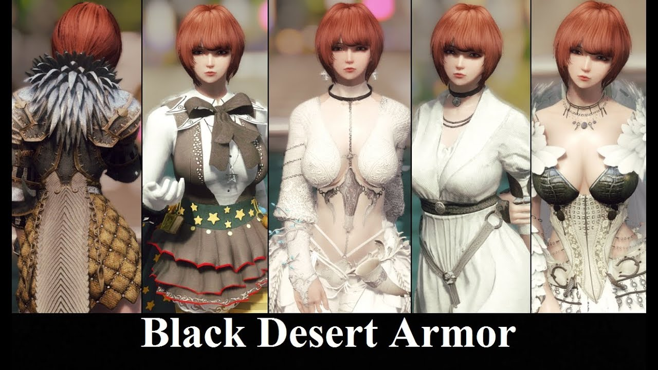 Skyrim Mods: Black Desert Armor Collection