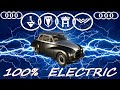 ( audi ) Ev Conversion 1958 Fully Electric Classic Car Auto Union, Nissan Leaf Motor And Batteries!
