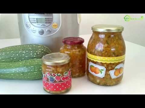 Варенье из кабачков с лимоном и апельсином рецепт в мультиварке