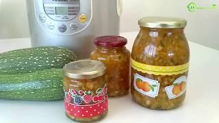 Варенье из КАБАЧКОВ с лимоном и апельсином в МУЛЬТИВАРКЕ
