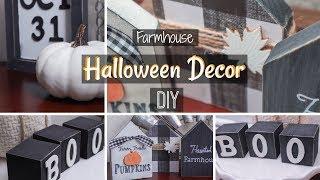 Farmhouse Halloween Decor DIY …