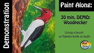 5-14 Live Paint With Lovejoy - Woodpecker