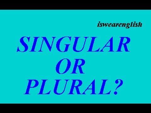 🔵 Plurals With No Singular And SIngulars With No Plural - ESL British English Pronunciation