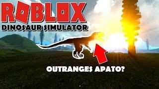 ROBLOX Dinosaur Simulator - NEW BEST PVP DINO?? *RANGES D APATO!*