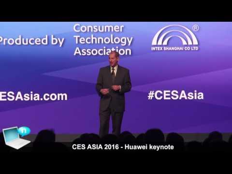 Huawei keynote CES Asia 2016 Shanghai