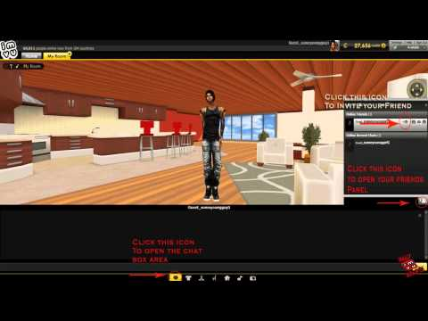 How To Invite A Friend To Chat In IMVU