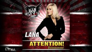 "WWE: ""Внимание! (Attention!)"" [iTunes Release] by CFO$ ► Lana Theme Song"
