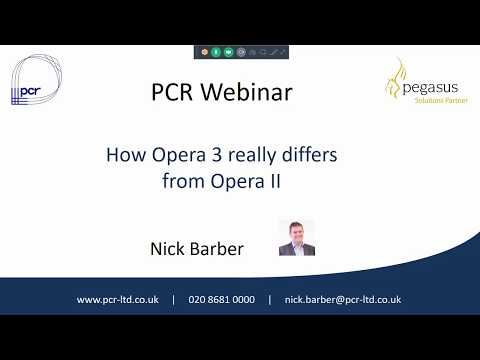 How Opera 3 really differs from Opera 2