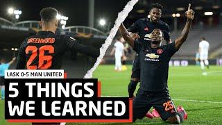 Ighalo Scores Again!   5 Things We Learned vs LASK   LASK 0-5 Man Utd