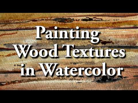 painting-wood-texture-in-watercolor