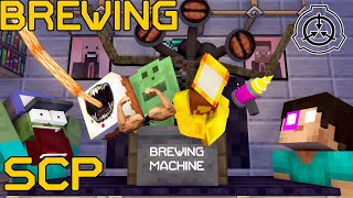 Monster School : BREWING SCP and SIREN HEAD - Minecraft Animation