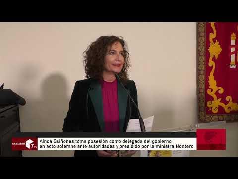 Ainhoan Quiñones toma Posesión como Delegada del Gobierno