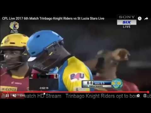 Trinbago Knight Riders vs St Lucia Stars 6th match Highlights CPL T20 2017
