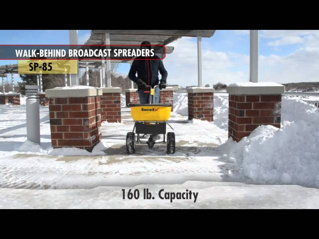 SnowEx SP 85 Walk Behind Spreader