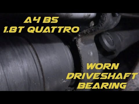 A4 B5 Driveshaft Center Bearing