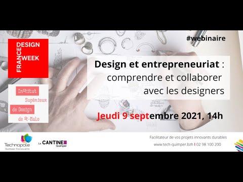 France Design Week : Design et entrepreneuriat : comprendre et collaborer avec les designers