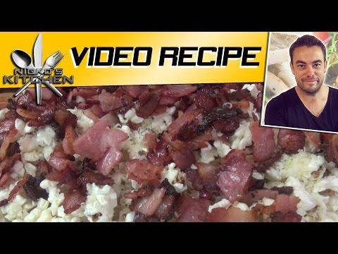 Bacon Popcorn 3 Ingredients  Nickos Kitchen  YouTube