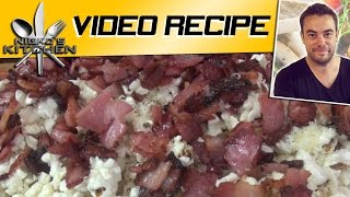 Bacon Popcorn (3 Ingredients) - Nicko's Kitchen