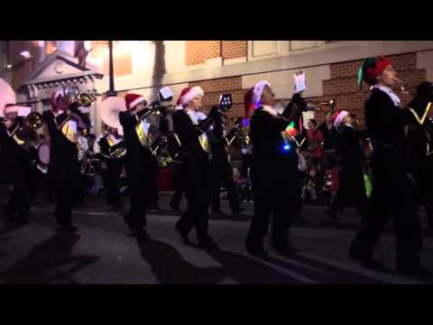 Buffalo Gap High School Band Christmas Parade