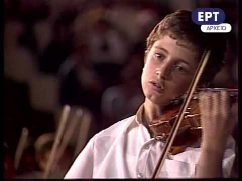 Paganini,  Campanella, Grèce 1982, Tedi Papavrami violon,