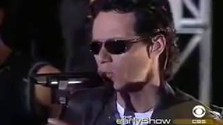 Marc Anthony - Ahora Quien en Vivo (Live on CBS Show)