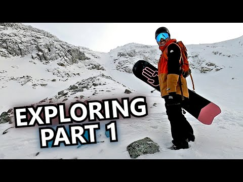You Can't Fall Here – Snowboard Exploring (Part 1)