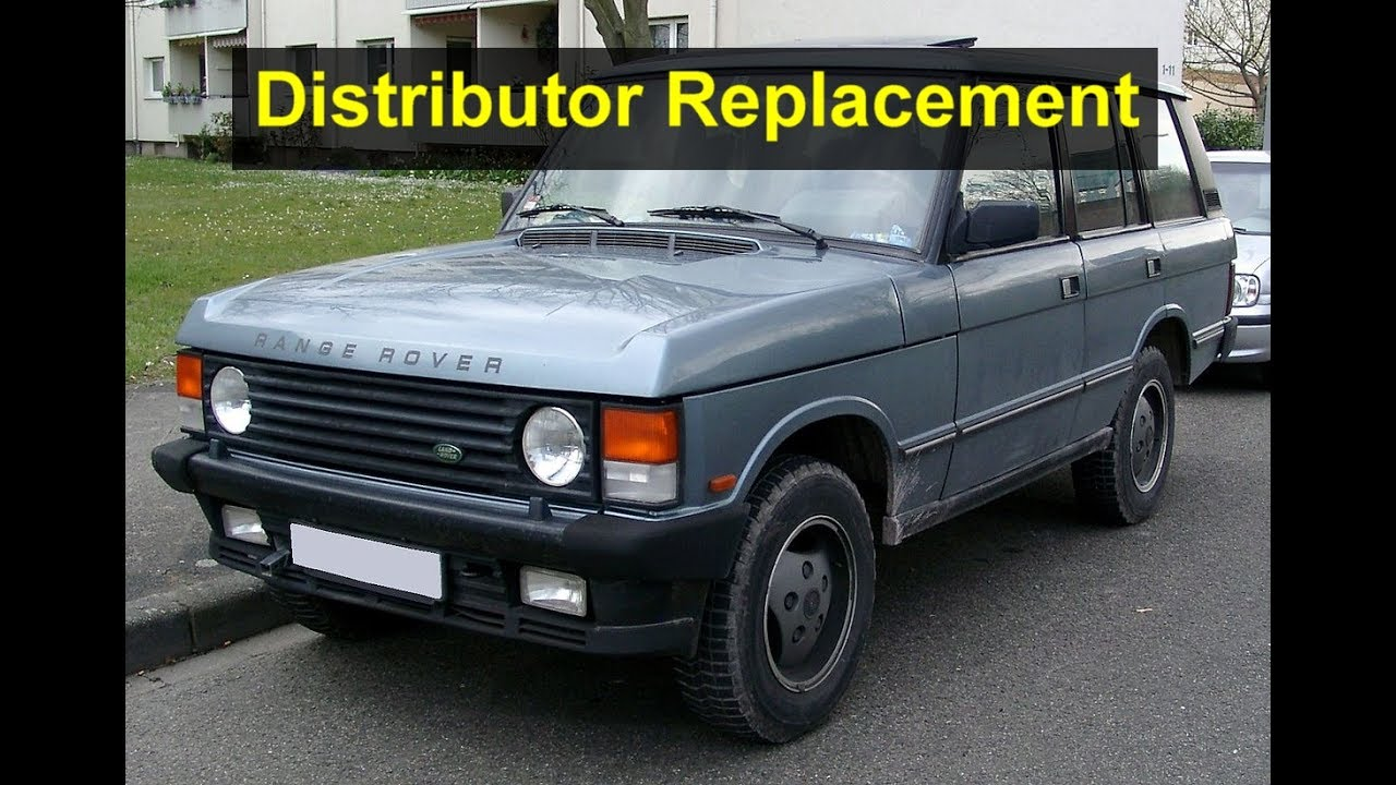 hight resolution of how to remove and wire the distributor on a range rover votd