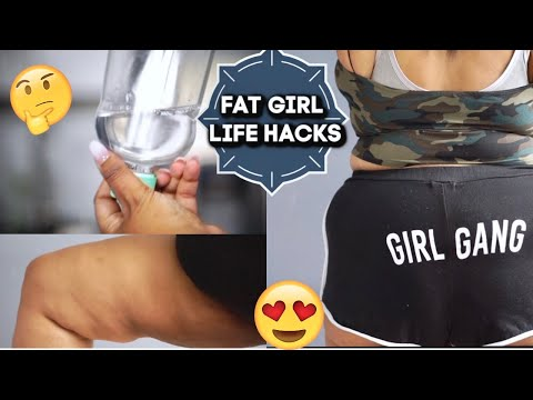 FAT GIRL LIFE HACKS!. http://bit.ly/2Xc4EMY
