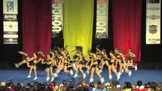 University of Regina Cheerleading - PCA UONCC 2010 - Run 1 - Small Co-ed - National Champions