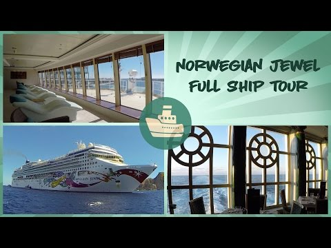 Norwegian Jewel Ship Tour