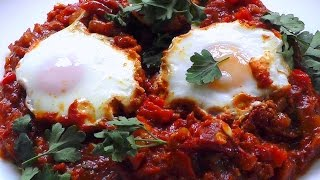 Shakshuka recipe Eggs in spicy tomato sauce – Go Cook Shakshouka